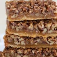 Pecan Pie Bars - Celebrating Sweets