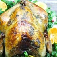 Oven Roasted Cajun Turkey