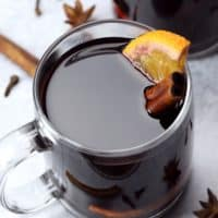 Slow Cooker Mulled Wine - The Toasty Kitchen