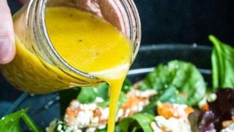 Easy Honey Dijon Vinaigrette Dressing Recipe | Erhardts Eat