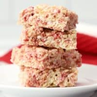 Strawberry Rice Krispies Treats